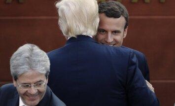 Makrons mudina G7 līderus slēgt vienošanās arī bez Trampa svētības