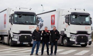 Meklē Latvijas ekonomiskāko kravas automašīnas vadītāju