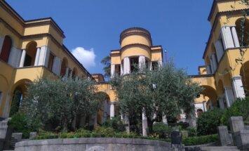 Itālijas pretrunīgā dzejnieka, lidotāja un Musolīni drauga D'Annunzio sirreālā pils Lombardijā