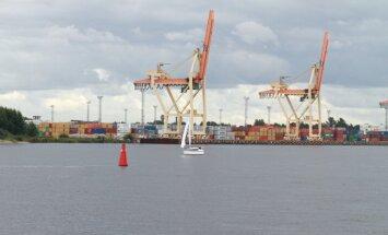 Krievijas ostas apsteidz Baltijas konkurentes pēc pārkrauto kravu apjoma