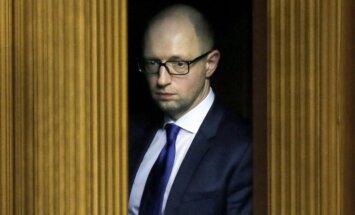 Putinam nepieciešamas jaunas 'anektēšanas', norāda Jaceņuks