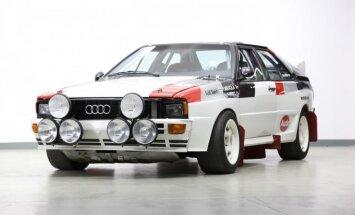 B grupas rallija 'Audi Quattro' par 400 tūkstošiem eiro