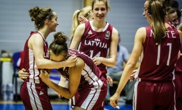 Latvijas U-20 basketbolistes kontinenta meistarsacīkstes noslēdz 11. vietā