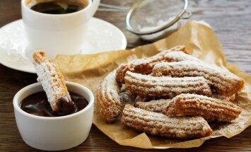 Пошаговый рецепт: как приготовить неприлично вкусные печенья чуррос с шоколадным соусом