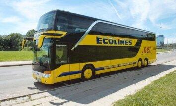 'Ecolines' par incidentu Igaunijā: notikusi nesankcionēta šoferu maiņa