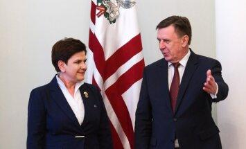 Kučinskis: Latvija saredz sadarbības potenciālu ar Poliju reģionālos enerģētikas infrastruktūras projektos