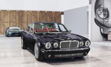 'Jaguar' pārbūvējis 34 gadus vecu 'XJ' limuzīnu speciāli 'Iron Maiden' bundziniekam