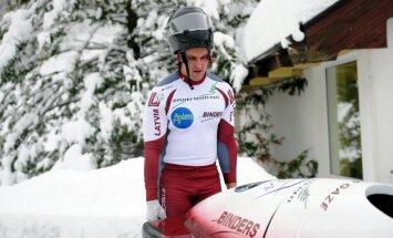 Melbārdis/Strenga – pasaules junioru čempioni bobslejā