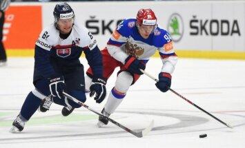 Pasaules hokeja čempionāts: desmitā spēļu diena (teksta tiešraides arhīvs)