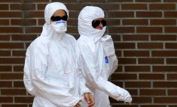 Spānijā slimnīcā ievietots vēl viens iespējamais Ebolas vīrusa inficētais
