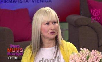 Linita Mediņa: esmu priecīga, ka man kāds atļauj būt vājai
