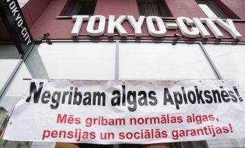 'Tokyo city' aplokšņu algu sāga: vadība sola algu izmaksāt kontā