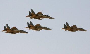 Saūda Arābija sākusi Jemenas šiītu nemiernieku pozīciju gaisa bombardēšanu