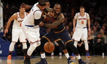 Knicks Carmelo Anthony, Cleveland Cavaliers LeBron James