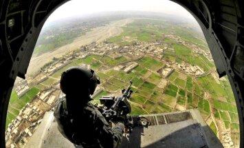 'Taliban' spridzinātāji uzbrūk ASV bāzei Afganistānā