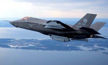 Акции Lockheed Martin упали после твита Трампа про истребитель F-35