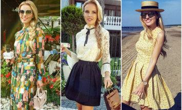 Лето 2018: Женственные и элегантные образы эксперта моды Майи Силовой