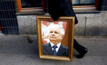 Viļņā ielu nosauc Krievijā bojāgājušā Polijas prezidenta vārdā