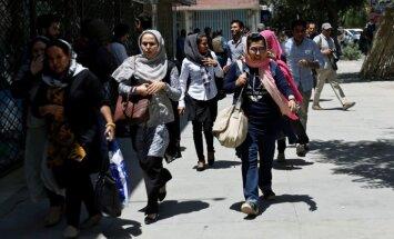 Kabulā pie Irākas vēstniecības nogrand sprādziens un izceļas apšaude
