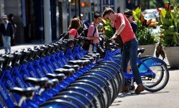 Ņujorkā sāk darboties velosipēdu koplietošanas programma