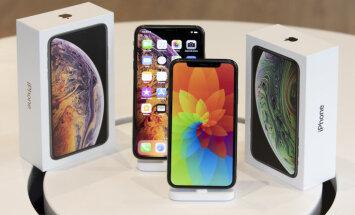 Jaunajam 'iPhone' pat 'Max' versijā baterija netur tik ilgi kā vecajam 'iPhone X', liecina pētījums