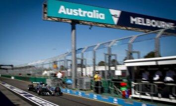 Austrālijas 'Grand Prix' sākas ar 'Mercedes' dominanci brīvajos treniņos un pimajiem sodiem