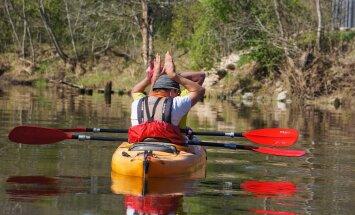 Izveidoti laivošanas maršruti pa vairāk nekā 80 upēm Latvijā un Igaunijā