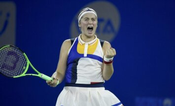 Остапенко завершила исторический сезон победой над чешской теннисисткой Плишковой