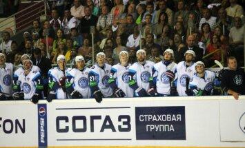 Minskas 'Dinamo' uzveic 'Atlant' un turnīra tabulā apsteidz Rīgas 'Dinamo' vienību