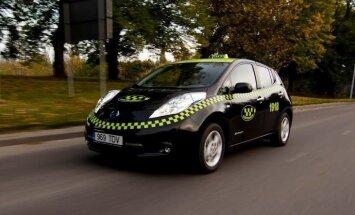 Elektriskie taksometri Tartu kopumā ir nobraukuši jau vairāk nekā 10 miljonus kilometru