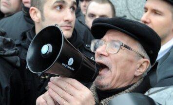 Maskavā aiztur 25 nesankcionētus protestētājus
