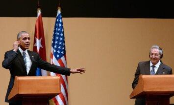 Kastro: attiecību pilnīgai normalizēšanai nepieciešama embargo atcelšana un Gvantanamo atgūšana