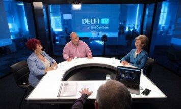 Par ko balsot? 'Delfi TV ar Jāni Domburu' atbild 'No sirds Latvijai'