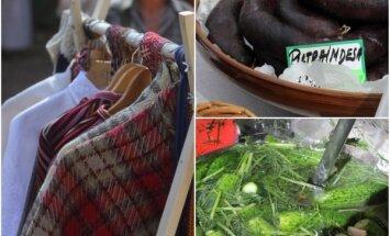 ФОТО. В Латвийском этнографическом музее проходит ярмарка народных ремесел