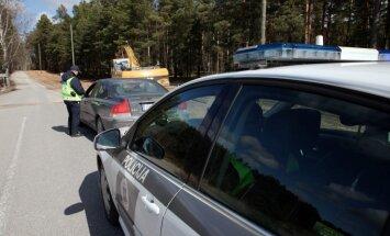 Ceļu policija pastiprināti ķers ātrumpārkāpējus