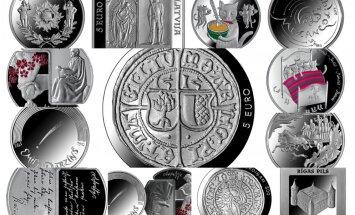 Skaistākās monētas 2015. gadā: izvēlies savējo!