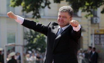 'Mani neinteresē, ko Putins domā par manu valsti,' norāda Porošenko