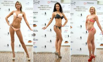 Foto: Atklāta 'Miss Bikini Fitness 2015' jaunā sezona - zināmas projekta dalībnieces un programma