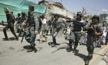 Полиция открыла огонь по протестующим после теракта в Кабуле