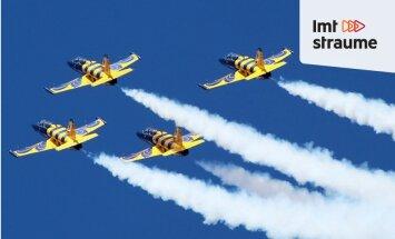 Raidījums 'ZeKurbulis': aizraujošā gaisa akrobātika un auto sporta jaunumi