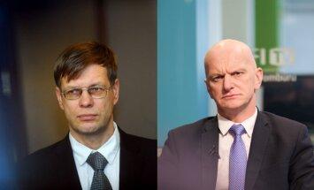 Einārs Cilinskis un Gaidis Bērziņš neplāno kandidēt Saeimas vēlēšanās