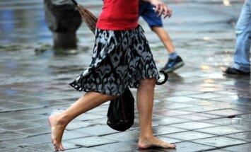 Piektdien daudzviet gaidāms īslaicīgs lietus