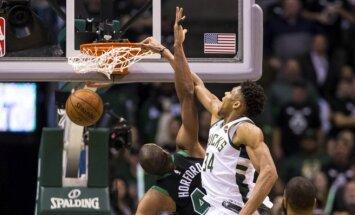 'Bucks', 'Wizards' un 'Cavaliers' izlīdzina rezultātus NBA pirmās kārtas sērijās