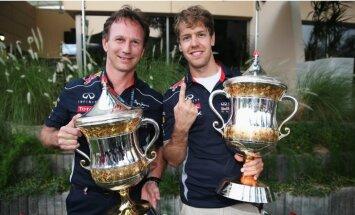 Сезон Формулы-1 завершился двумя рекордами Феттеля