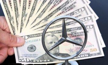 'Daimler' lietā kopējā kukuļu summa - vairāk nekā pieci miljoni eiro