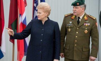 """Президент Литвы: во время учений """"Запад"""" США пришлют больше истребителей и военных"""