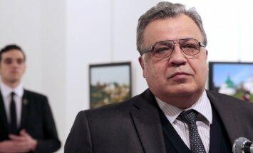 Turcijā aiztur Krievijas vēstnieka slepkavas tuviniekus