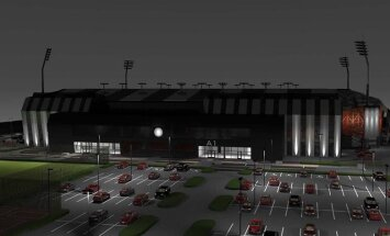 'Futbola mājām' iztērēts jau gandrīz miljons eiro; būvniecības sākšana miglā tīta