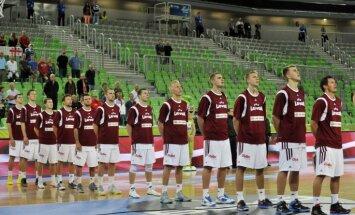Latvijas basketbolistiem cīņa ar Beļģiju par 'Eurobasket 2013' ceturtdaļfinālu