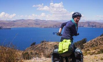Latviešu riteņotāja, kas divarpus gadu laikā šķērsojusi Amerikas: tas bija labākais lēmums manā mūžā